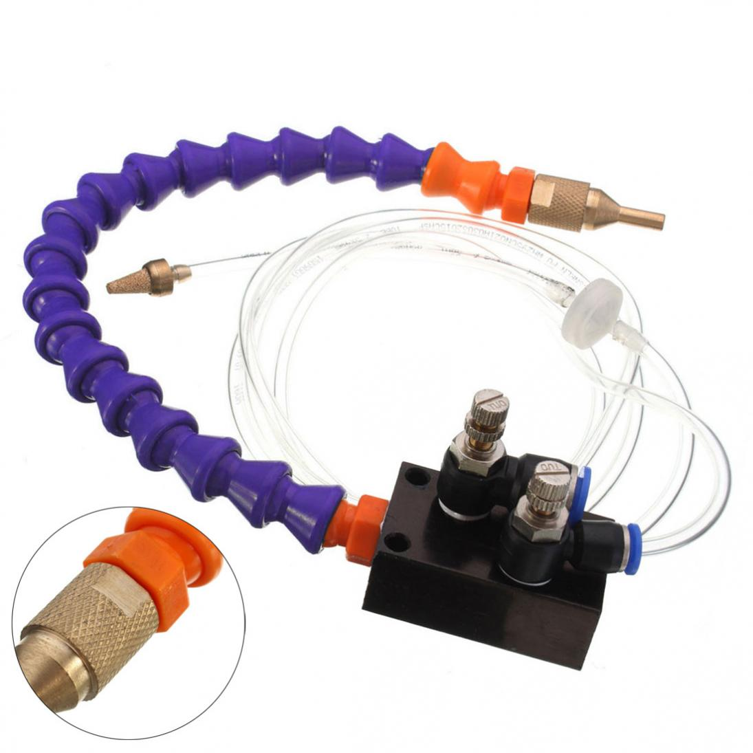 Metal Cutting Engraving Machine Mist Coolant Lubrication Cooling Sprayer System 6
