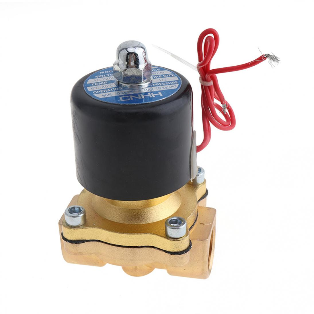 1-2-039-039-DC12-Brass-Electric-Solenoid-Valve-N-C-Gas-Water-Fuel-Air-Solid-Coil-New thumbnail 11
