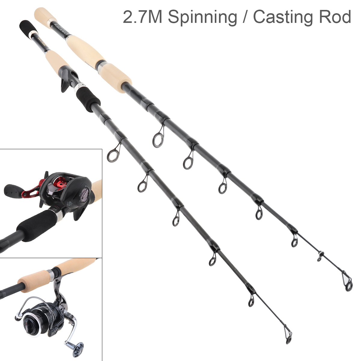 Casting-Fishing-Rod-Carbon-Fiber-Travel-Lure-Rod-Saltwater-Spinning-Fishing-Pole