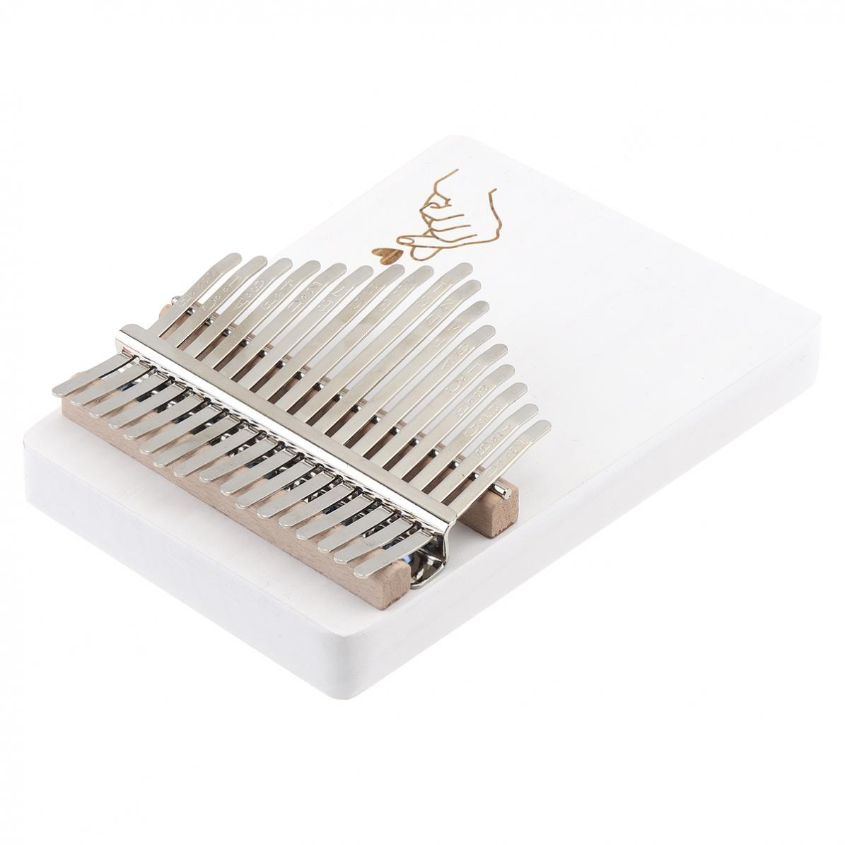 17-Key-Kalimba-Thumb-Piano-Solid-Finger-Piano-Single-Board-Pine-Mbira-Keyboard thumbnail 10