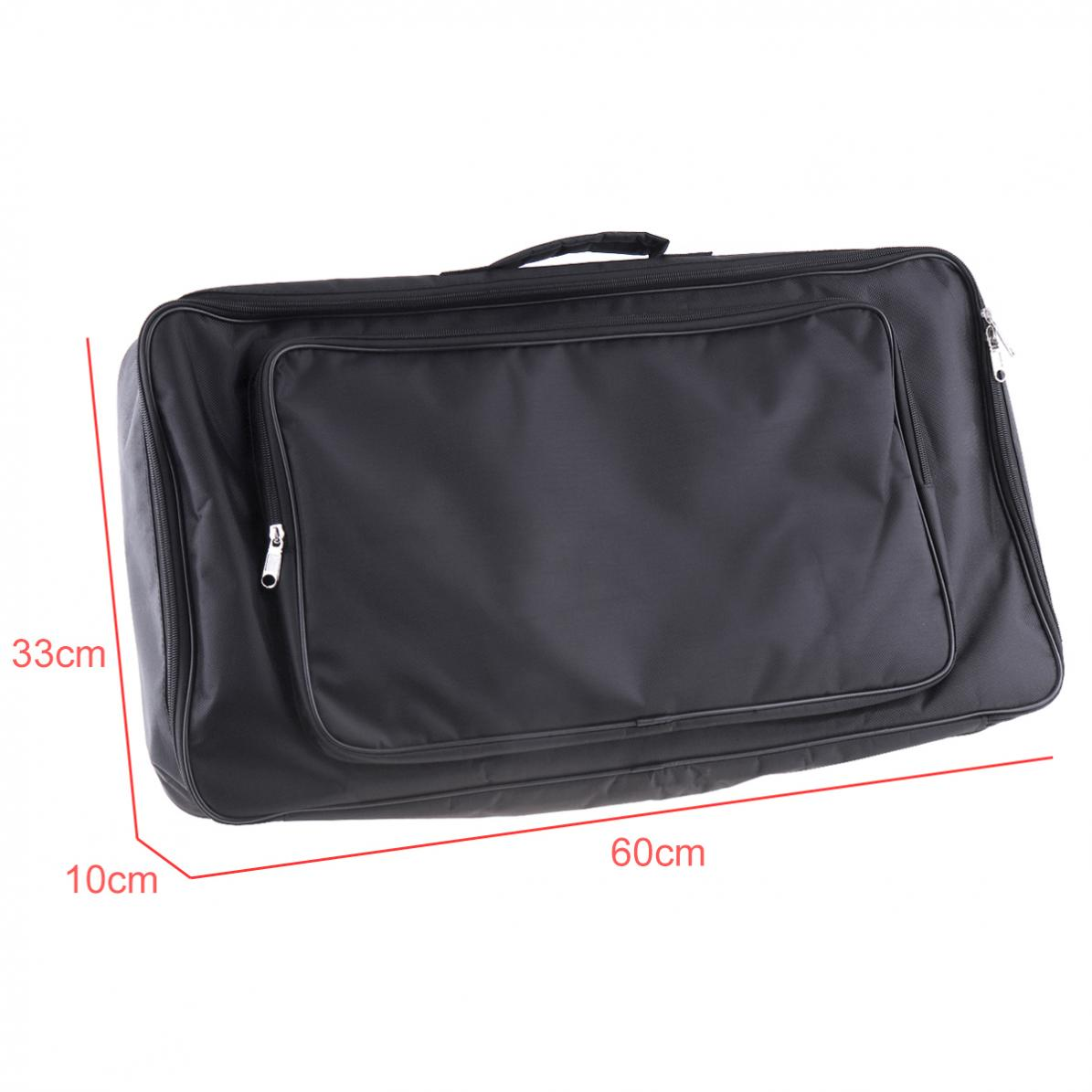Portable Electric Guitar Effect Pedal Board Case Gig Bag ...